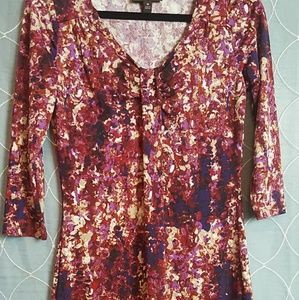 Dana Buchman Midi Dress SZ XS